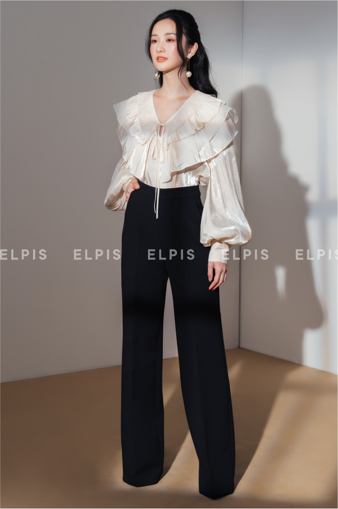 balloon long sleeves layer blouse | SS20T90