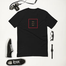 Load image into Gallery viewer, PEACE | zone. a black short sleeve t-shirt