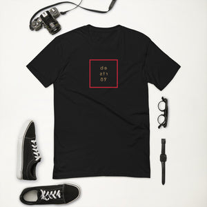 PEACE | zone. a black short sleeve t-shirt