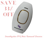 SmoothySkin IPL laser full body hair-removal device