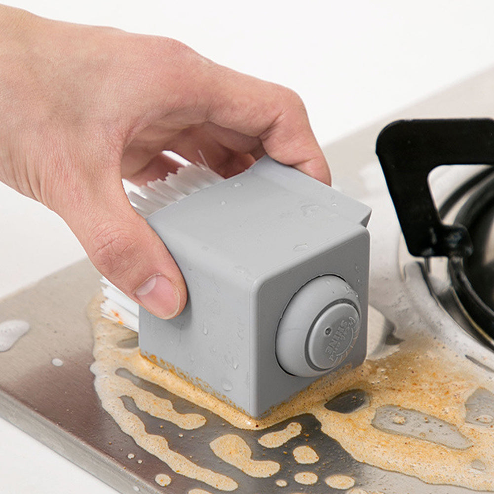 Square Soap Dispensing Palm Brush