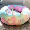 FerryTale Feathers Unicorn Dog & Cat Bed