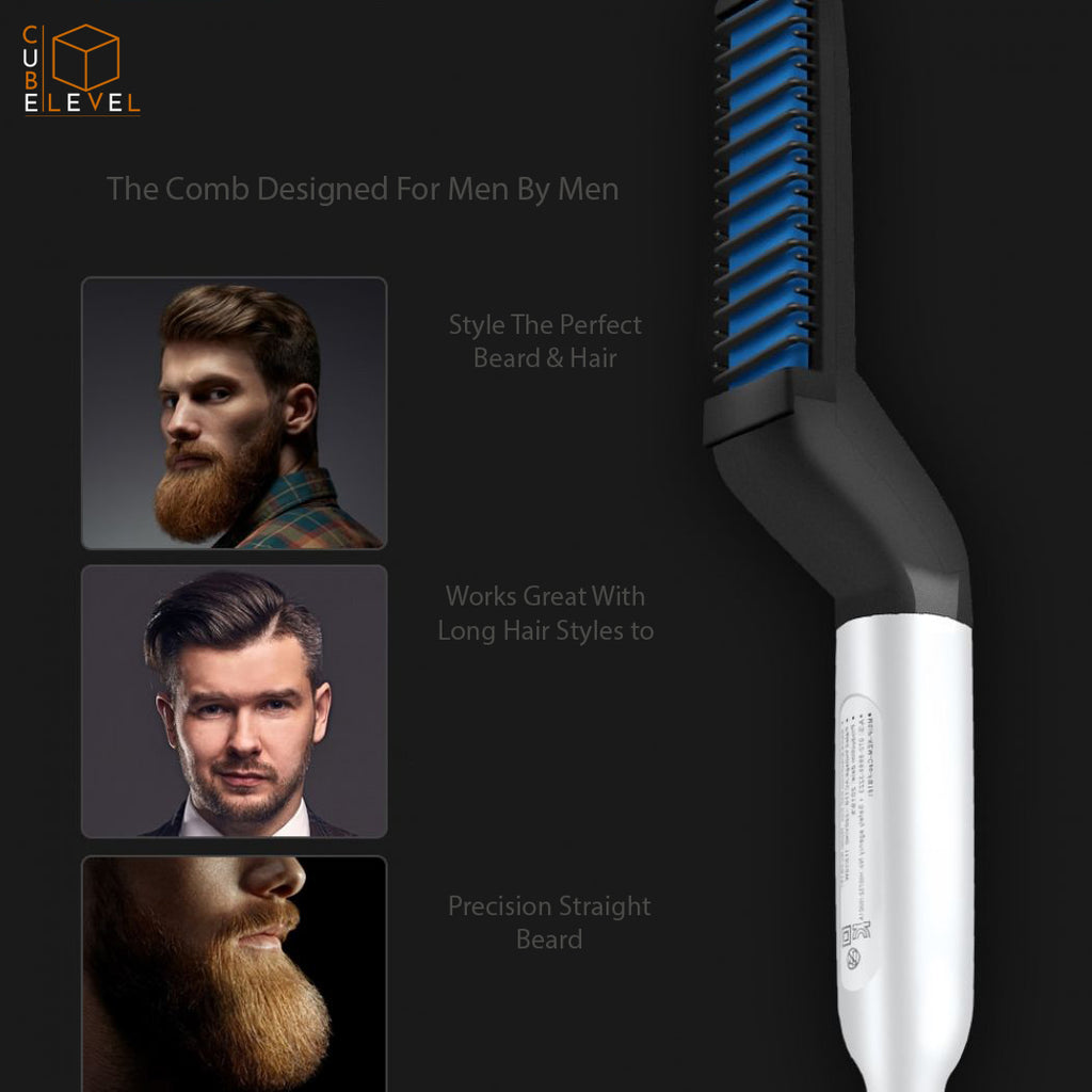 Negative ION Straightening Beard Comb