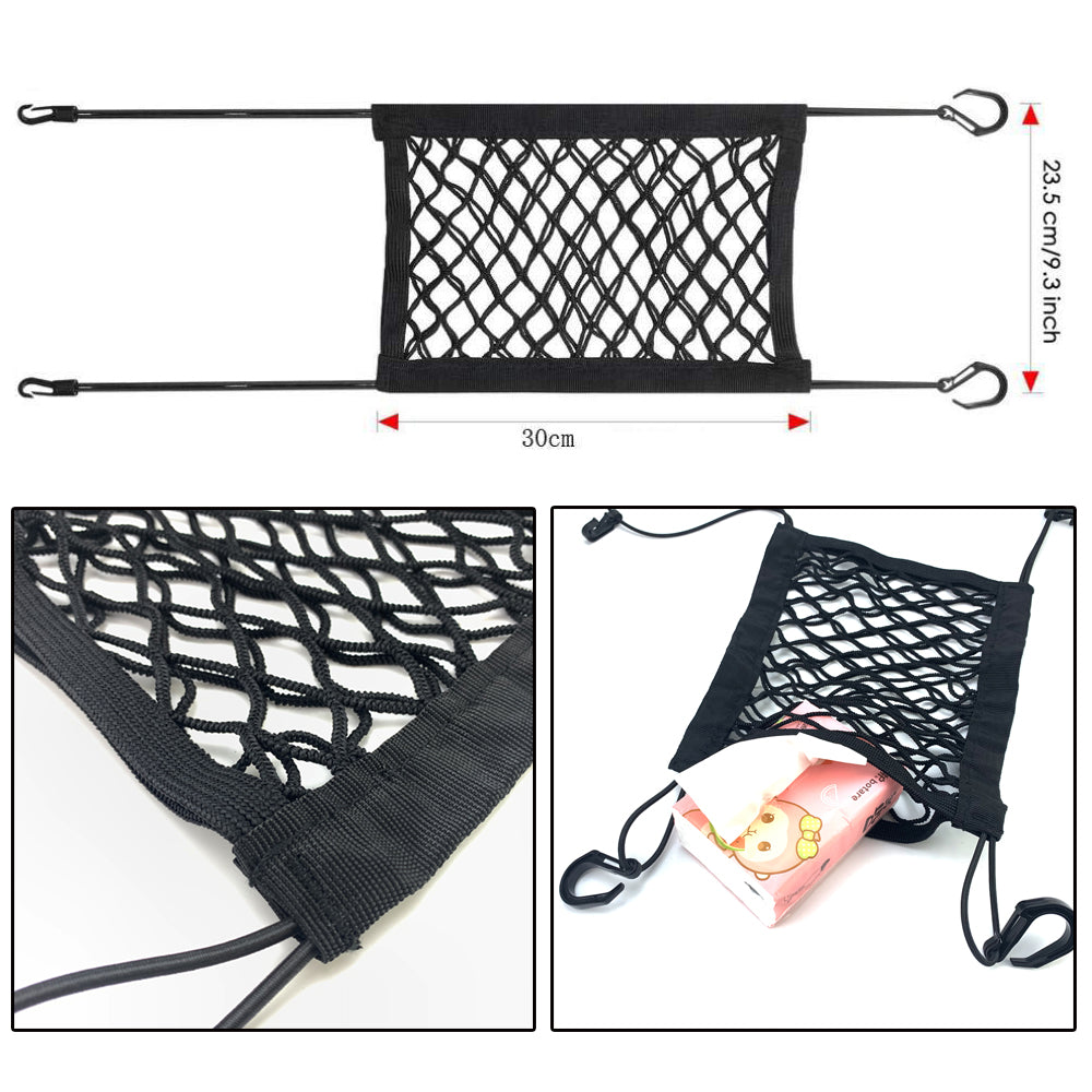 Car Safety Travel Mesh Net Barrier For Dogs