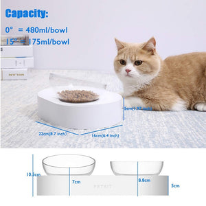 PetKit™ Food Feeders Nonslip Dishwasher Safe Pet Bowls With Stand