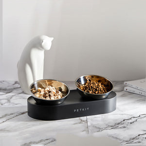 PetKit™ Stainless Steel Food Feeders Nonslip Dishwasher Safe Pet Bowls With Stand