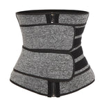 FitGurl™ Waist Trainer Compression Corset Sweat Belt for Women's Weight Loss Fitness Workout
