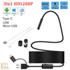 Endoscope Snake Camera HD 1200P IP68 Waterproof