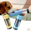 Portable Pet™ Easy Travel Dog Water Bottle Dispenser With Activated Carbon Filter