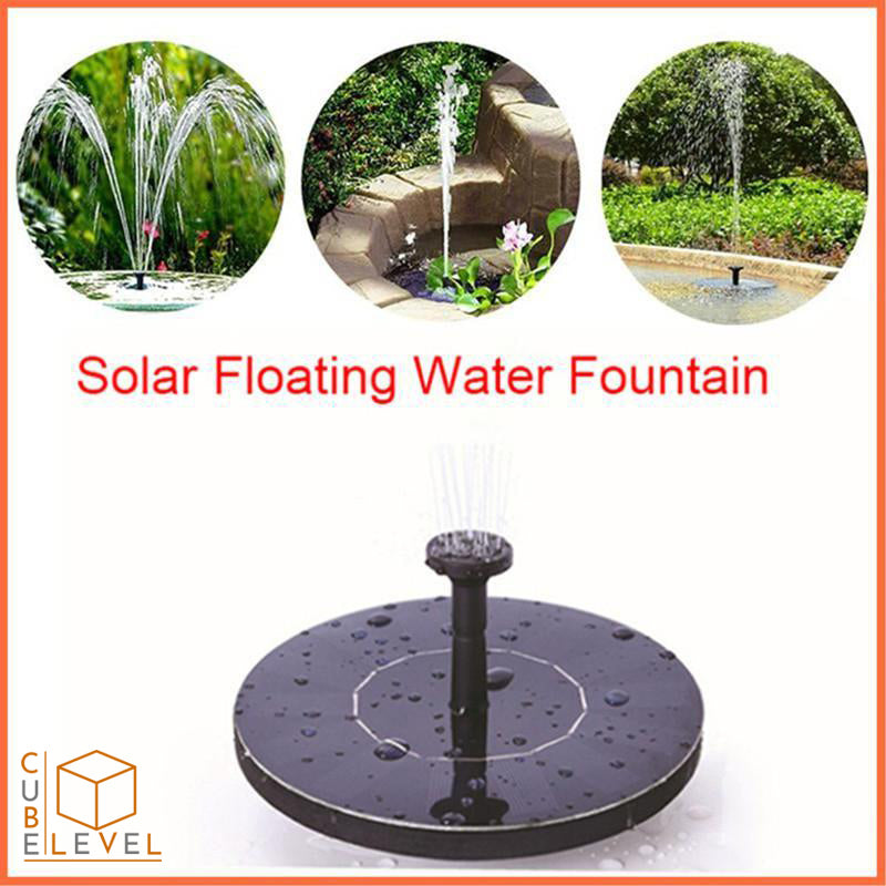 Mini Solar Water Fountain