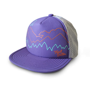 TRAIL BUTTER X TERRITORY RUN CO. LOOWIT ATHLETIC TRUCKER - PURPLE