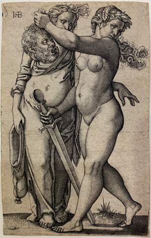 Hans Sebald Beham - Judith with the Head of Holofernes