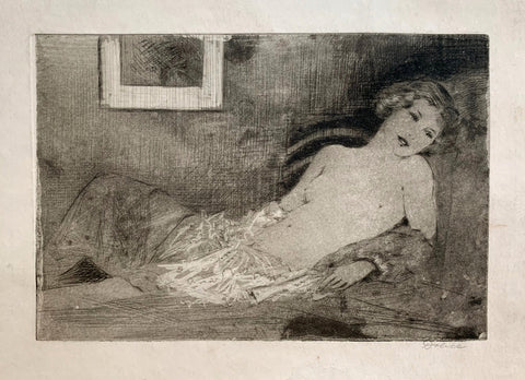 Female Nude in Repose