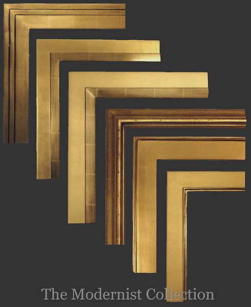 Modernist Collection 22kt Gold Leaf