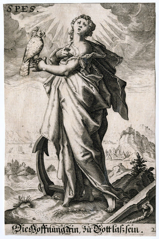 Anonymous Engraver - Allegory of Hope
