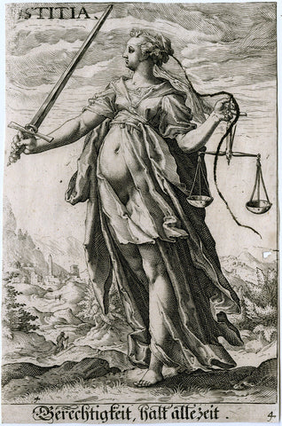 Anonymous Engraver - Allegory of Justice