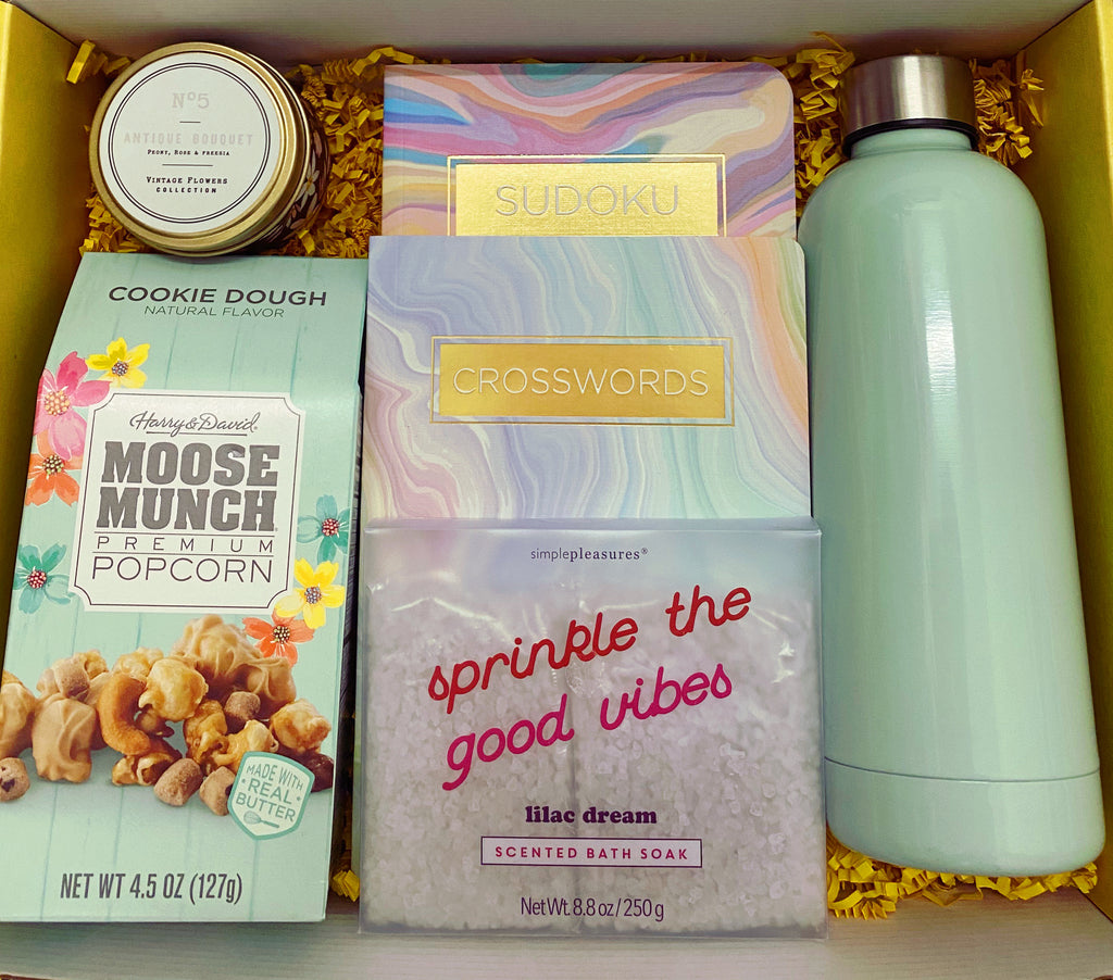 """Minty vibes"" Blissful Box"