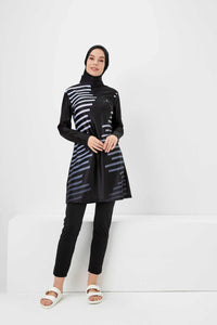 Burkini Swimwear - Stripes