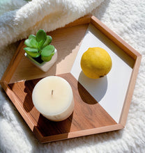 Load image into Gallery viewer, wooden geometric tray