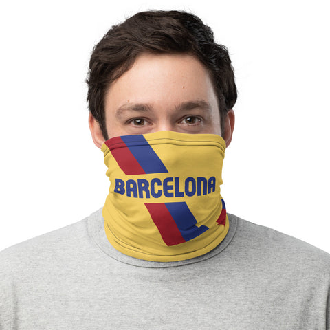 Barcelona 20 Away Kit Gaiter Face Mask