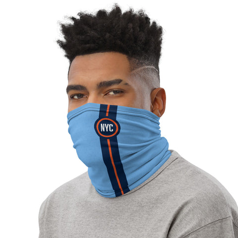 NYC 20 Striped Home Kit Gaiter Face Mask