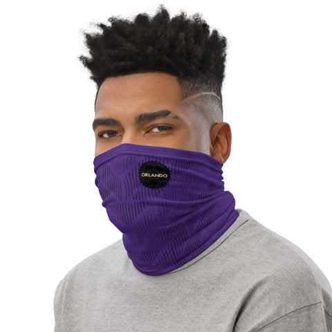 Orlando Black Badge Home Kit Gaiter Face Mask