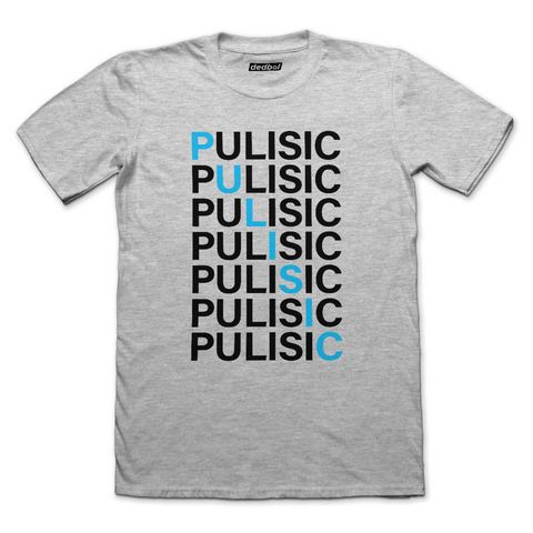 Pulisic Crossword Fitted T-shirt