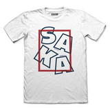 Saka Scramble AFC Fitted T-Shirt