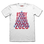 Stay at Home Challenge Fitted T-shirt