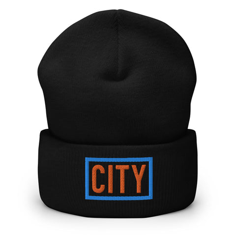City Box Logo Beanie