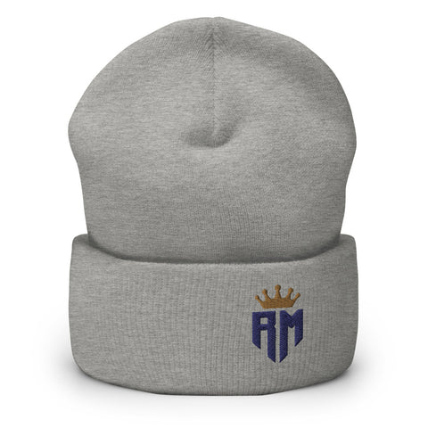 Madrid Champions Crown Logo Cuffed Beanie