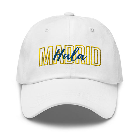 Hala Madrid Soccer Dad Hat