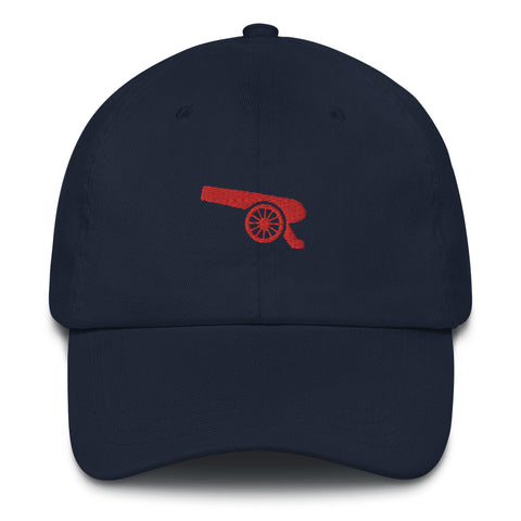 AFC Red Cannon Crest Dad Hat - Navy Blue