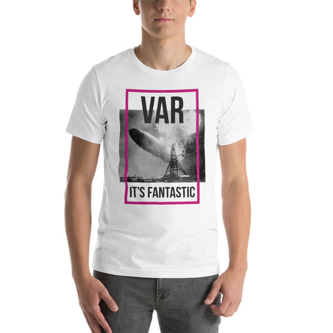 VAR - It's Fantastic EPL Fitted T-Shirt