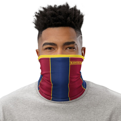 Barcelona 20-21 Home Kit Gaiter Face Mask