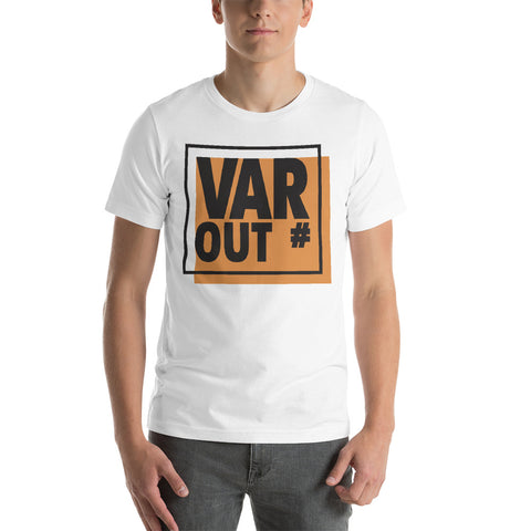 VAR OUT# Fitted T-Shirt