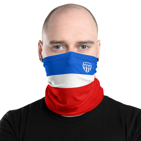 USA 14 Away Kit Gaiter Face Mask