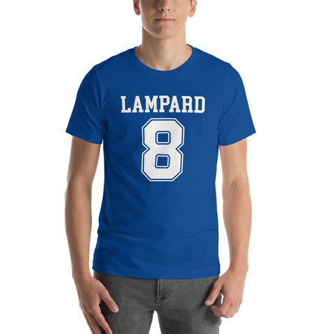 Lampard #8 Legend Fitted Varsity T-Shirt