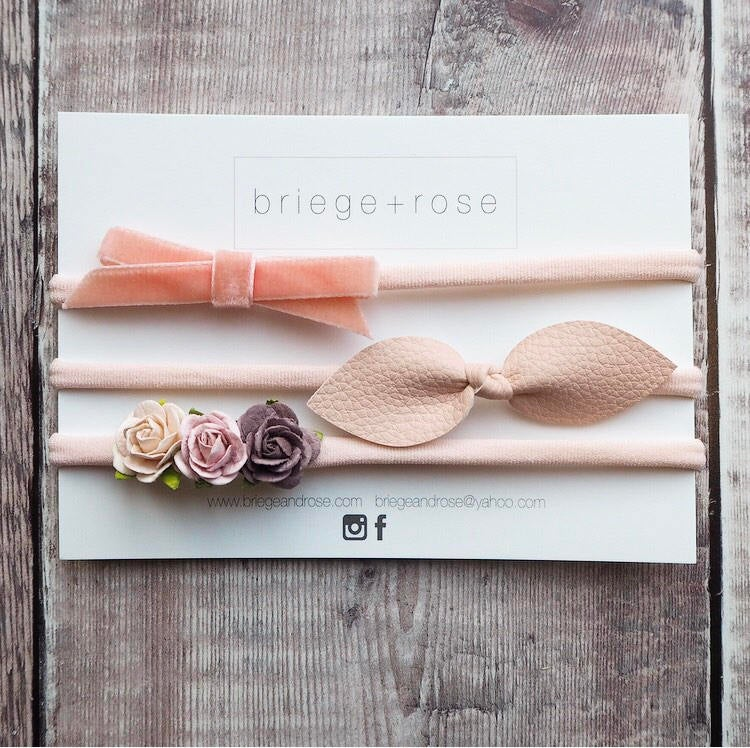 Newborn Gift Set - peach