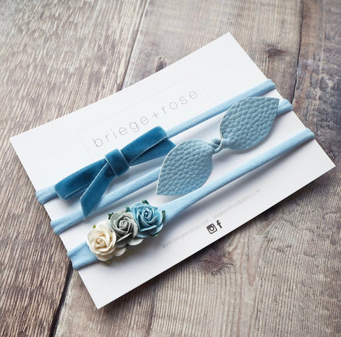 Newborn Gift Set - blue