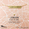 Coordinate City Necklace - London - 4 pk