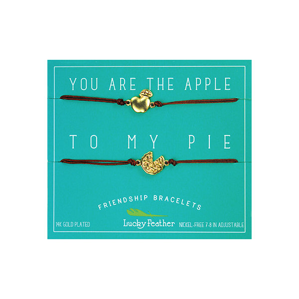 Friendship Bracelet - Gold - APPLE/PIE - 4pk