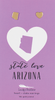 State LOVE Earrings - Gold - ARIZONA - 4PK