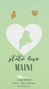 State LOVE Earrings - Gold - MAINE - 4PK