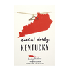 State Necklace - Gold - KENTUCKY - 4 pk