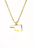 State Necklace - Gold - OKLAHOMA - 4 pk
