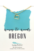 State Necklace - Gold - OREGON - 4 pk