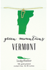 State Necklace - Gold - VERMONT - 4PK