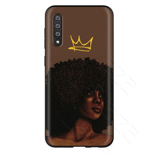 Lavaza African Afro Melanin Poppin Black Girl Case for Samsung