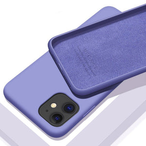 Shockproof Liquid Silicone Case for iPhone Series